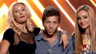 Милен Димитров изпълнява My All на Mariah Carey - X Factor кастинг (15.09.2015)