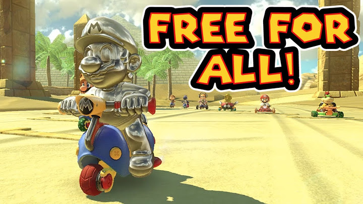 mario kart 8 deluxe 200cc free for all races 3