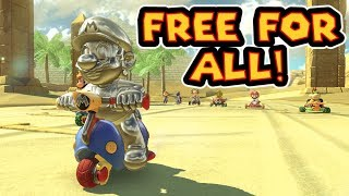 Mario Kart 8 Deluxe 200cc Free For All Races #3!