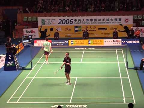 Peter Gade vs Lin Dan (China Master