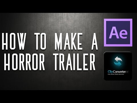 HOW TO MAKE A HORROR MOVIE TRAILER (SONY VEGAS PRO 12)