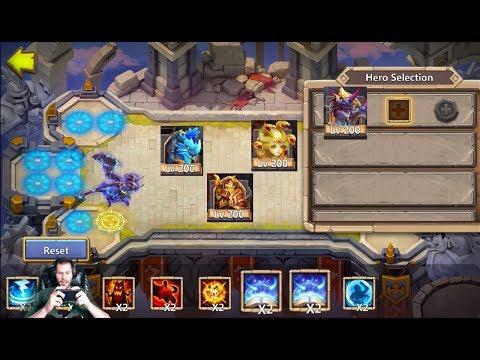 The Ultimate Squad Showdown Team FOUR 5/5 Revitalize Castle Clash