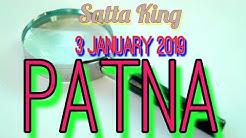 Satta King    3 January 2019    PATNA SATTA    SUPER JODIYA
