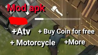 Last day on earth Cheat,Mod apk,Atv,motorcycle,more coin. New version update