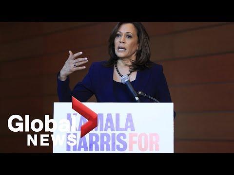 Kamala Harris speaks about 2020 presidential bid and how she'll win