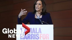 Kamala Harris speaks about 2020 presidential bid and how she'll win