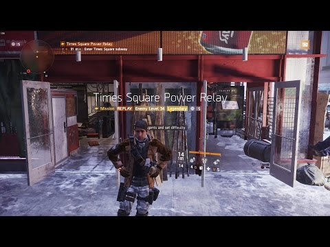 The Division | Legendary Times Square [Completed Solo]