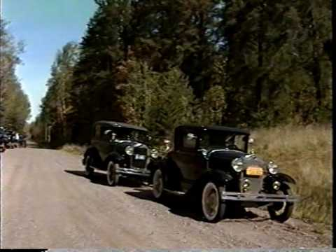 Chain O' Lakes Model A Club Wisconsin Road Trip Fall 1999