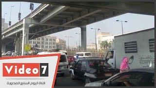 بالفيديو.. خريطة الحالة المرورية فى القاهرة الكبرى