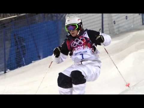 Hannah Kearney denied history in women's moguls