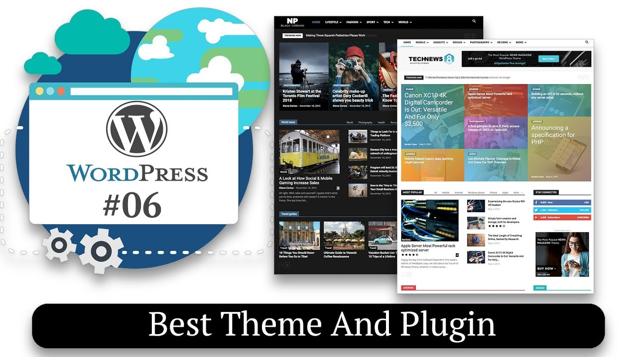 Best Themes And Plugins For Your Wordpress Website