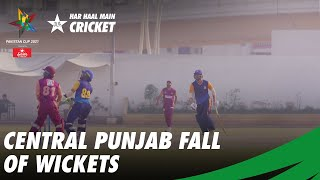 Central Punjab Fall Of Wickets | Pakistan Cup 2021 | PCB | MA2T