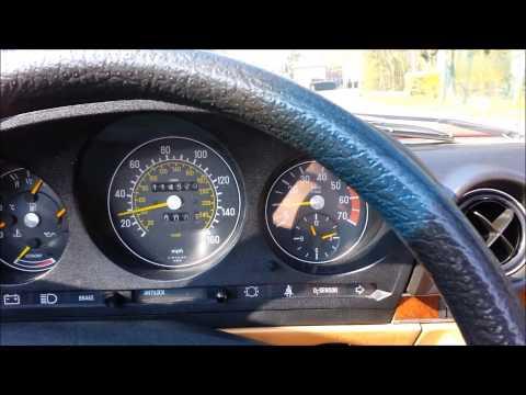 Mercedes-Benz 380 SL - R107 - DRIVING CLIP