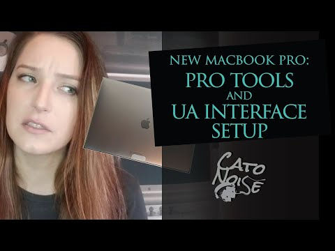Macbook Pro Unboxing with DAW Setup: Pro Tools and Universal Audio Interface Install and Setup