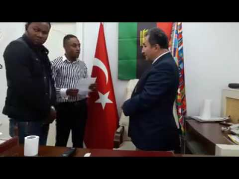 Biafran Meets with Turkish Government