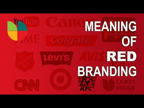 The Color Red Meaning : Design Branding For 2020 Revealed