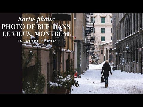 Photo de rue en hiver dans le Vieux-Montréal | street photography