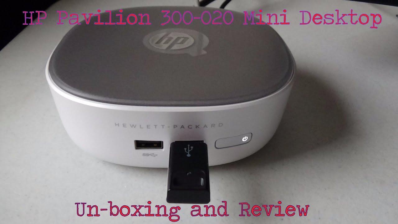 Hp Pavilion 300 020 Mini Desktop Un