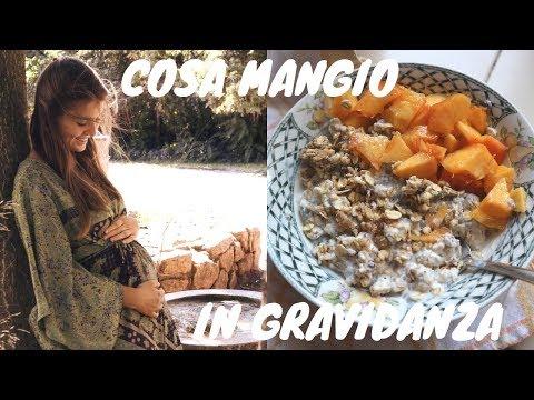 COSA MANGIO in un giorno in GRAVIDANZA ~ Vegan