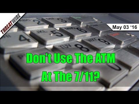 ATM Skimming Up 546% -- ThreatWire
