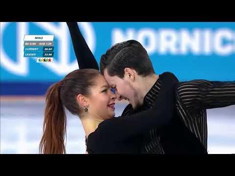 Anastasia SHPILEVAYA & Grigory SMIRNOV RUS Rhythm Dance Winter Universiade 2019