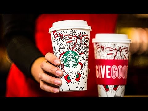 """Conservatives Claim Starbucks' New Holiday Cup tes """"Gay Agenda"""""""