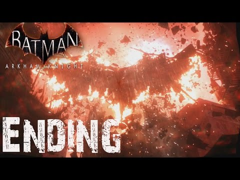 Batman Arkham Knight Knightfall Protocol Ending 100% Secret Completion Ending