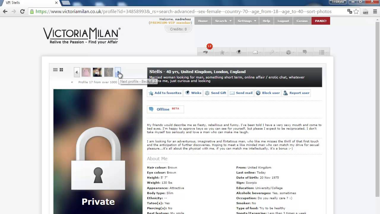 The, victoria, milan, experience - Real People, Real Security, Real