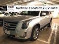 Cadillac Escalade ESV 6.2 V8 2018 - REVIEW COMPLETO