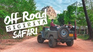 We found the COOLEST SAFARI TOUR in Sri Lanka