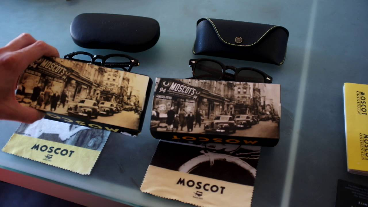 0dc9a46e965 How to identify fake Lemtosh Moscot frames - YouTube