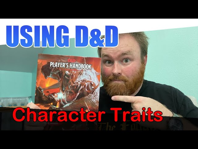 Stealing Personality Traits from Dungeons & Dragons Books