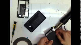 Microsoft 640 - Repair Touch Digitizer Disassemble LCD