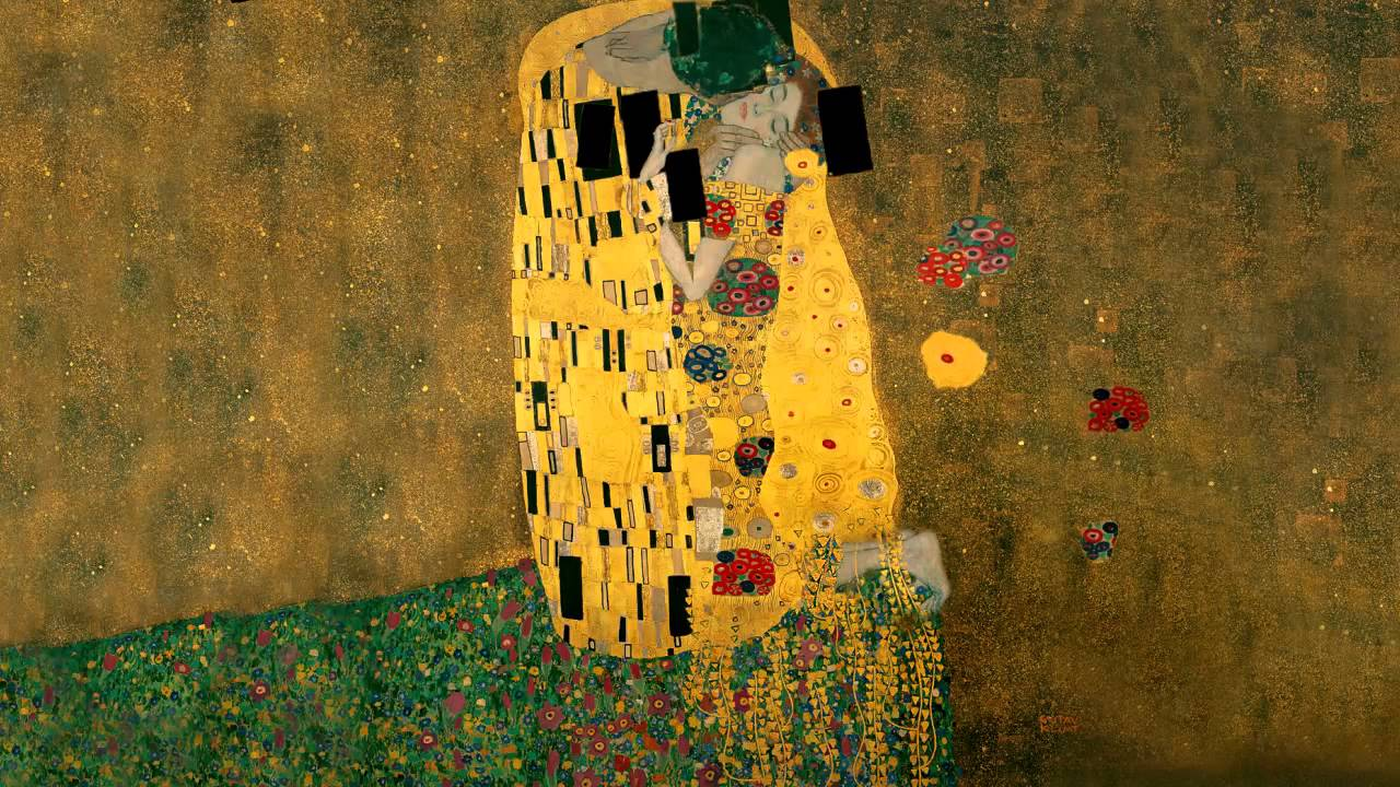 An analysis of gustav klimts painting the kiss
