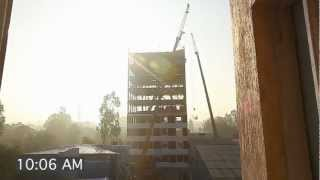 Powerful Time Lapse of 10 Storey in 48 Hours Mohali Building HD