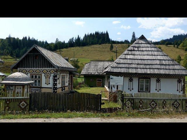 Satul muzeu  CIOCĂNEȘTI  The Living Museum Village (Bucovina, Romania)