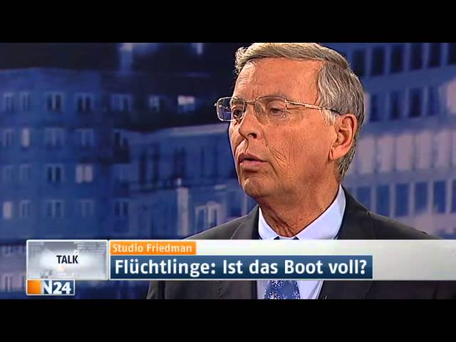 Studio Friedman: Flüchtlinge, Asylpolitik, Armutseinwanderung (Sendung vom 17.10.2013)