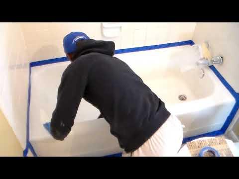 How To Reglaze A Bath Tub