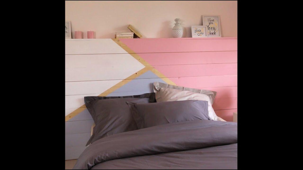 Comment Faire Un Lit Soi Meme fabriquer une tête de lit design – diy