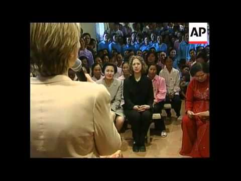 VIETNAM: HILLARY VISITS MICRO CREDIT LENDING PROGRAMME