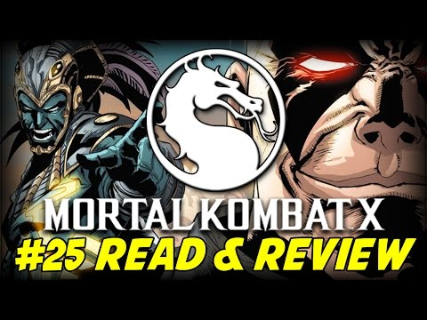 Mortal Kombat X #25 Blood On The Sand (Read & Review)