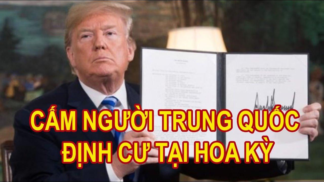 Đòn Trừng Phạt Của TT Trump Cấm Người TRUNG QUỐC Định Cư Tại Mỹ.Thủ Tướng ẤN ĐỘ Phát Thông Điệp TC