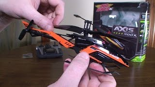 Air Hogs - Axis 400X - Review and Flight