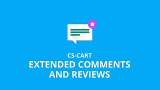 CS-Cart Extended Comments And Reviews