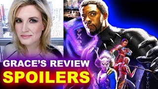 Black Panther SPOILERS Movie Review