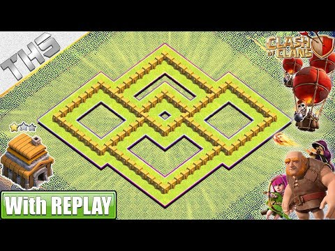NEW BEST TH5 Base 2019 With Base Layout Link | TH5 Hybrid Base - Clash Of Clans