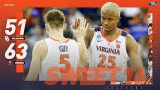 Virginia vs. Oklahoma: Second round NCAA tournament extended highlights