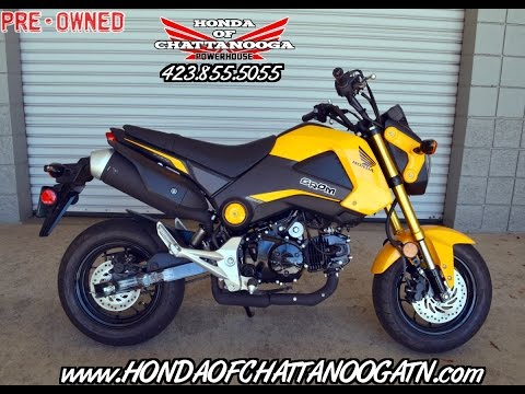 Used 2015 Honda Grom For Sale (189 miles) - TN / GA / AL / NC / SC area Pre Owned Motorcycles
