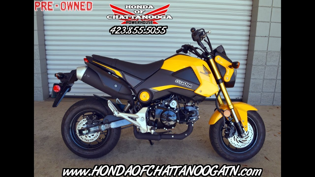 used 2015 honda grom for sale (189 miles) - tn / ga / al / nc / sc