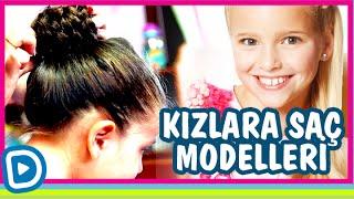 Kızlar için Saç Modelleri - Okul için Saç Modelleri